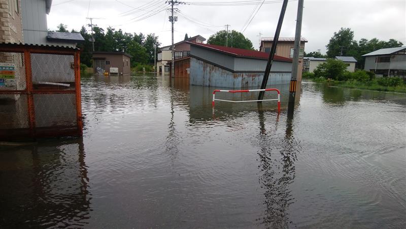大仙市 水害