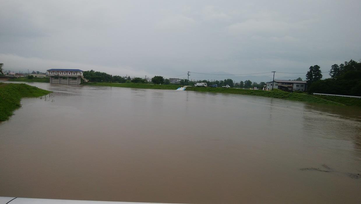 丸子川 氾濫