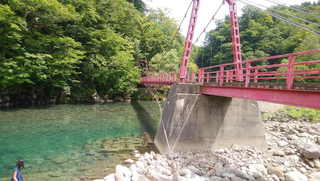 法体の滝 橋